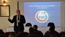 """""""THF Altyapı Gelişim Projesi"""" Bilgilendirme Toplantısı Yapıldı"""