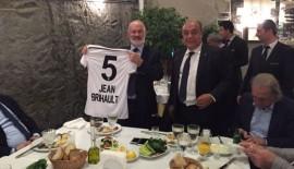 EHF Başkanı Jean Brihault, Beşiktaş'a konuk oldu