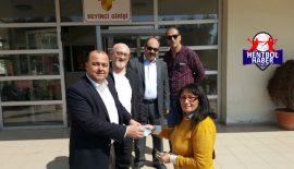 Merzifon Belediyesi SK'dan Eymen Bebeğe destek!
