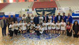 Şampiyon Anadolu Üni. GSK oldu