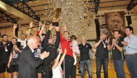 Beşiktaş Mogaz 13.Şampiyonluk Kupasına kavuştu