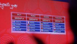 EHF EURO 2018 kuraları çekildi