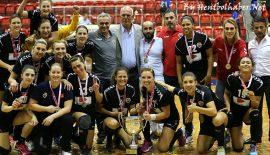 Kastamonu Belediyesi GSK ilk kez Süper Kupa sahibi