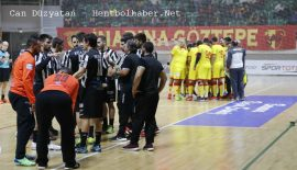 Göztepe – Paok  EHF Challenge Kupası ilk maçının tekrarı