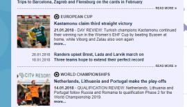 EHF'den Kastamonu Belediyesi GSK için övgü dolu sözler