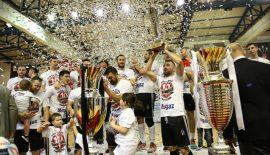 Beşiktaş Mogaz şampiyonluk kupasına kavuştu
