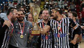 Beşiktaş Mogaz kupasına kavuştu