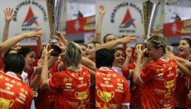 Kadınlar Süper Ligin şampiyonu Muratpaşa