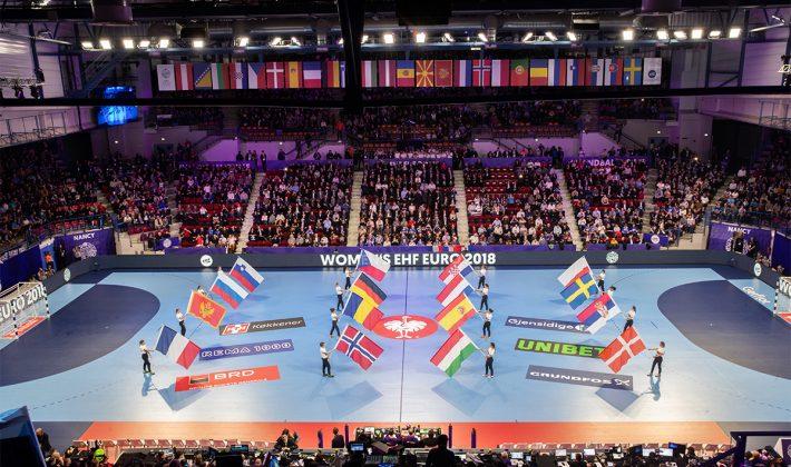 Kadınlar Avrupa Şampiyonası büyük heyecan ile başladı
