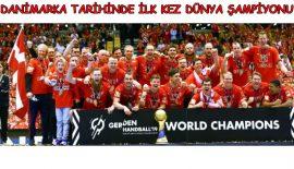 Dünya Şampiyonu Danimarka