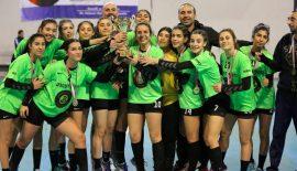 Antalya Gazi GSK'nın yıldızları şampiyon