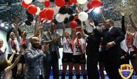 Kadınlar Süper Ligi şampiyonu Kastamonu Belediyesi GSK