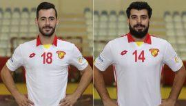Nilüfer Belediyesi Göztepe'den iki oyuncuyu kaptı