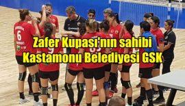 Zafer Kupası Kastamonu Belediyesi GSK'nın
