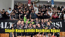 Kupa Beşiktaşlı oyuncuların elinde