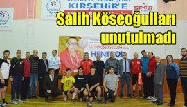 Salih Köseoğulları Kırşehir'de anıldı