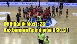 DHK Banik Most 28 – 31 Kastamonu Belediyesi GSK
