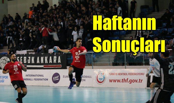 Hentbol Erkekler Süper Lig 14.hafta sonuçları