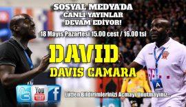 Yüz Yüze Hentbol'un konuğu David Davis Camara