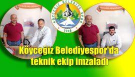 Köyceğiz Belediyespor'da teknik ekip imzaladı
