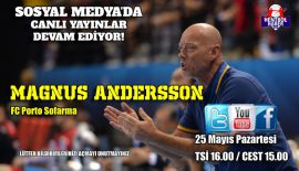 Magnus Andersson will be on Face to Face Handball