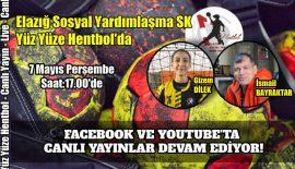 Yüz Yüze Hentbol'un konuğu Elazığ Sosyal Yardımlaşma SK