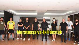 Muratpaşa'ya 4×4 destek