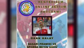 Okan Halay, Başarı Pramidi ve Spor'da Beyin Gücü'nü anlatacak