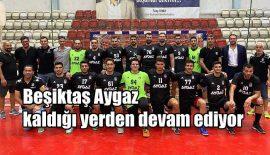 Beşiktaş Aygaz kaldığı yerden devam ediyor (video)