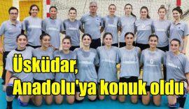 Üsküdar Belediyespor, Anadolu Üniversitesi'ne konuk oldu