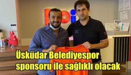 Üsküdar Belediyespor sponsorluk sözleşmesine imza attı