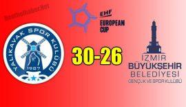 Yalıkavak SK – İzmir Büyükşehir BLD GSK: 30-26