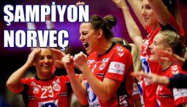 EHF EURO 2020'de şampiyon Norveç