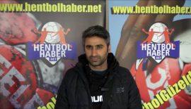 Hoca Ahmet Yesevi SK'da Başantrenör Murat Erpolat'ın açıklamaları