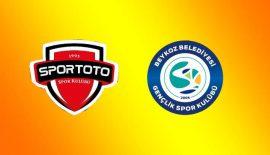 Spor Toto SK – Beykoz Belediyesi SK: 23-23