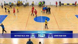 Beykoz Belediyespor – İzmir Büyükşehir Belediyespor: 30-29