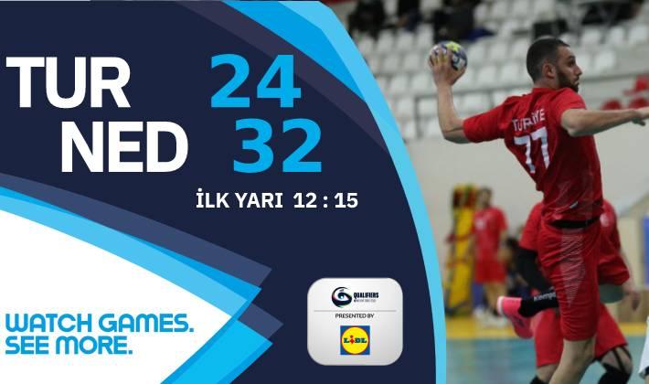 Türkiye – Hollanda: 24-32