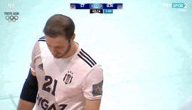 Beşiktaş Aygaz'a kırmızı kart