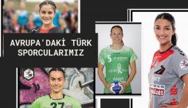 Avrupa'daki Türk Sporcularımız