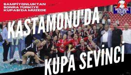 Kastamonu'nun ilk Türkiye Kupası zaferi