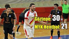 Göztepe – MYK Hentbol: 30-21