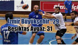 İzmir Büyükşehir Belediyespor – Beşiktaş Aygaz: 29-31