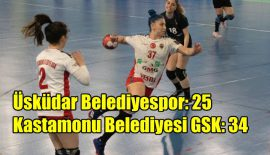 Üsküdar Belediyespor – Kastamonu Belediyespor: 25-34