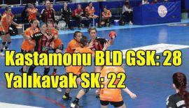 Kastamonu Belediyesi GSK – Yalıkavak SK: 28-22