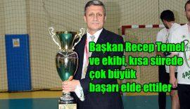 """Başkan Recep Temel: """"Eskişehir Hentbol'un önemli merkezlerinden"""""""