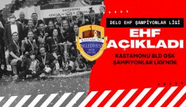 Kastamonu Belediyesi GSK Şampiyonlar Ligi'nde