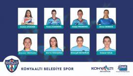 Konyaaltı Belediyespor yeni transferler ile hedef büyüttü