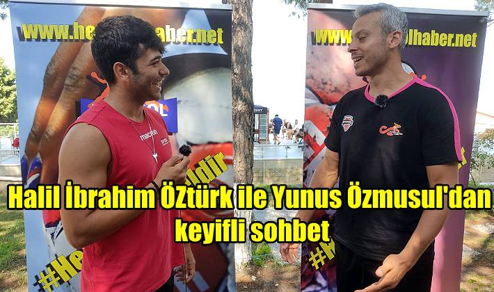 Halil İbrahim Öztürk ile Yunus Özmusul Saat:15.00'de Youtube kanalımızda