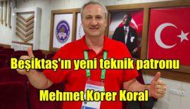 Beşiktaş Aygaz'da Başkan Ahmet Nur Çebi yeni teknik patronu açıkladı