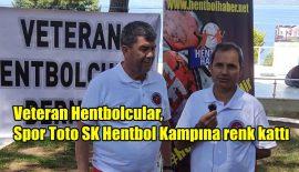 Veteran Hentbolcular, Spor Toto SK Hentbol Kampına renk kattı